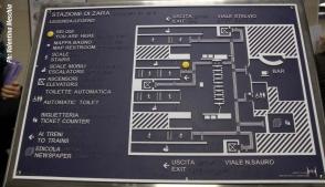 Stazione zara mappa