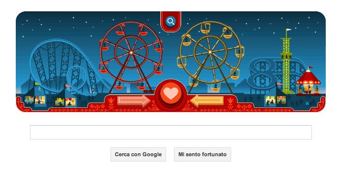 Doodle San Valentino 2013 - Inizio