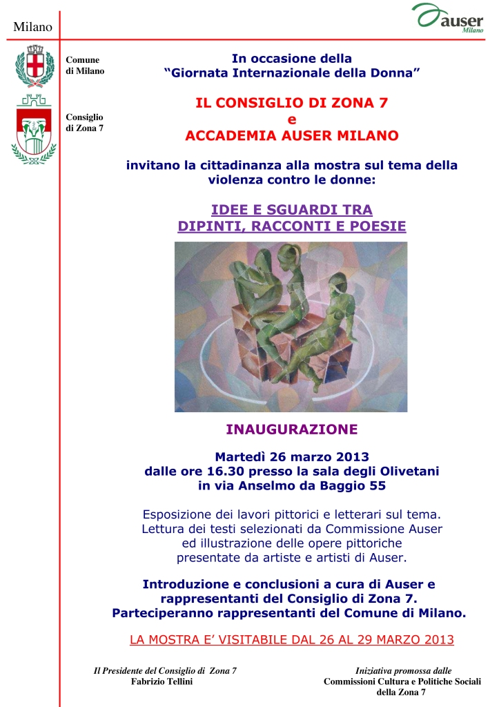 giornata internazionale donna 2013 mostra Auser 2