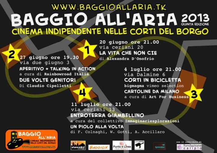 Baggio all'aria 2013